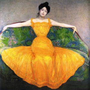 Max_Kurzweil_1899_Mujer_con_un_vestido_amarillo-2